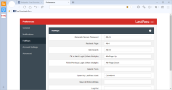 LastPass for Maxthon screenshot 12