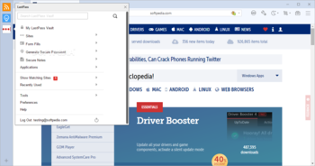 LastPass for Maxthon screenshot 2