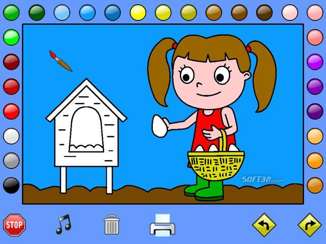 Leahs Farm Coloring Book Game Free Download