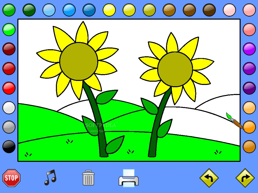 Leahs Farm Coloring Book Screenshot
