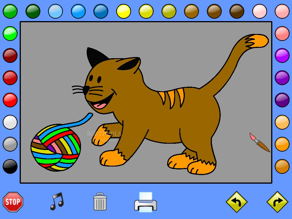 Leahs Farm Coloring Book Screenshot 4