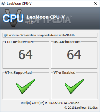 LeoMoon CPU-V screenshot