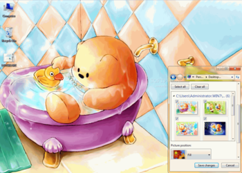 LotsBears Theme screenshot