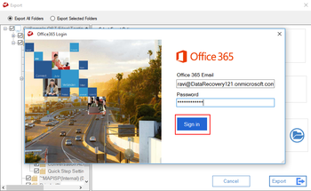 MailsDaddy OST to Office 365 Migration Tool screenshot