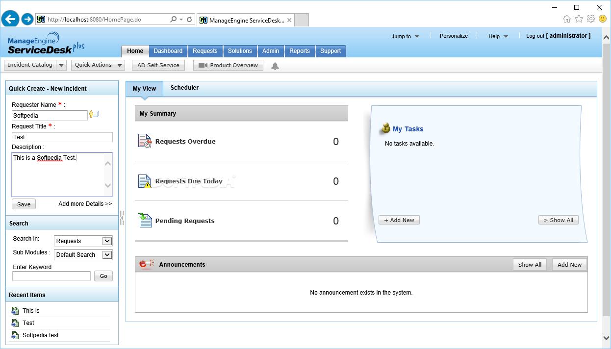 manageengine servicedesk plus 9 keygen