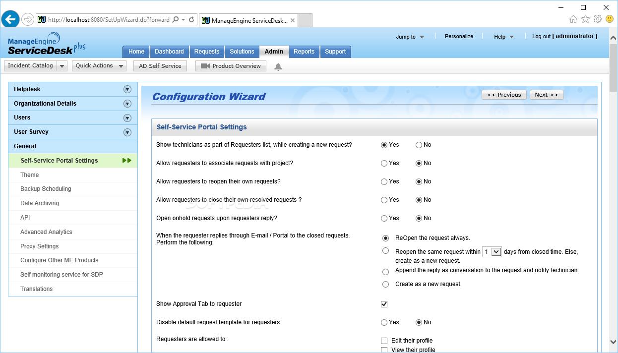 Manageengine Servicedesk Plus Screenshot 10