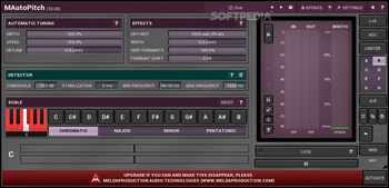MAutoPitch screenshot 2