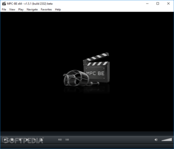 Media Player Classic - Black Edition Portable screenshot
