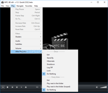 Media Player Classic - Black Edition Portable screenshot 5