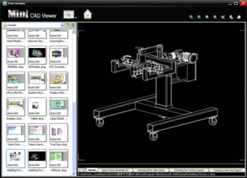 Mini CAD Viewer screenshot