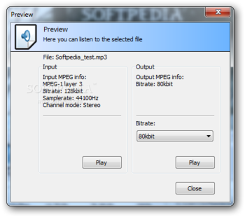 MP3Resizer Portable screenshot 2