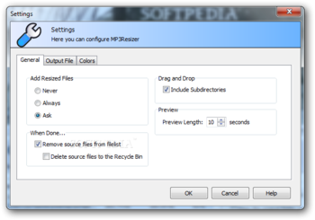 MP3Resizer Portable screenshot 3