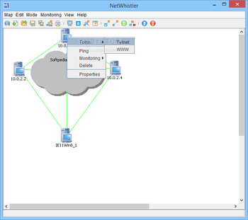 NetWhistler screenshot 2