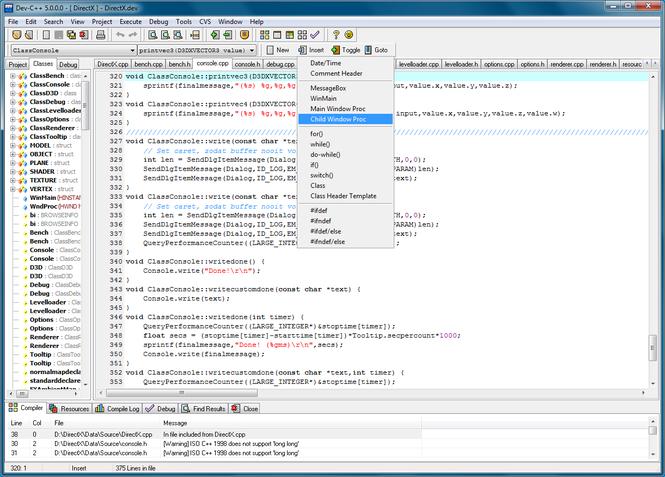 Download DEV-C++ 4.9.9.2   review SoftChamp.com