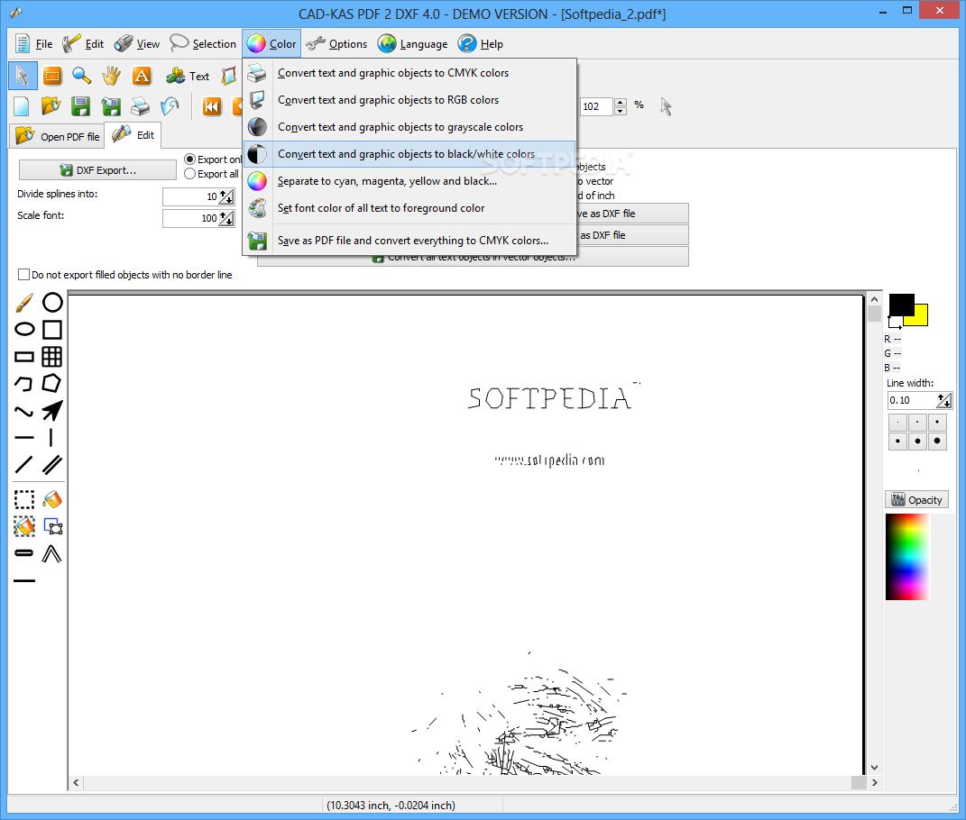 2 dxf pdf 3.0 cad-kas