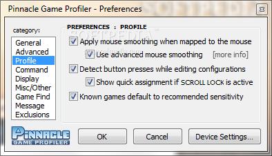 pinnacle game profiler macro