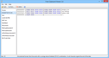Portable Free Clipboard Viewer screenshot 2