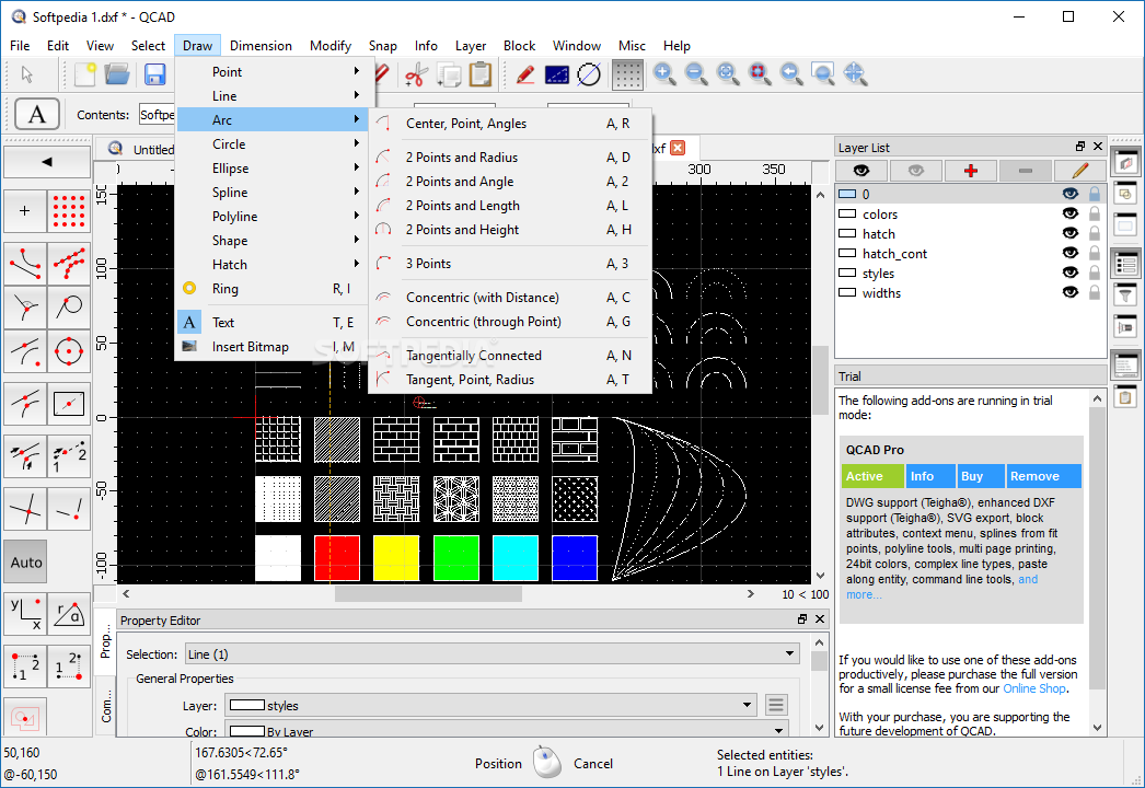download 2018 QCAD Professional (4 19 2) for win 10 free