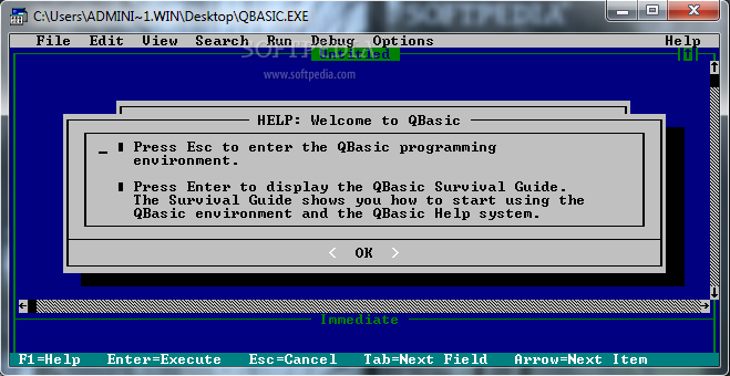 How to download and install qbasic in windows 10 youtube.