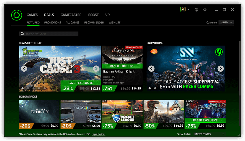 Razer Cortex - Download Free with Screenshots and Review