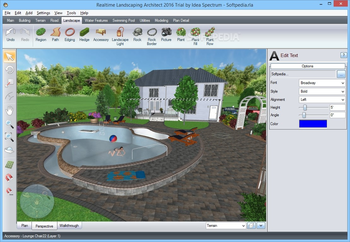 Realtime Landscaping Architect 2016 screenshot 5