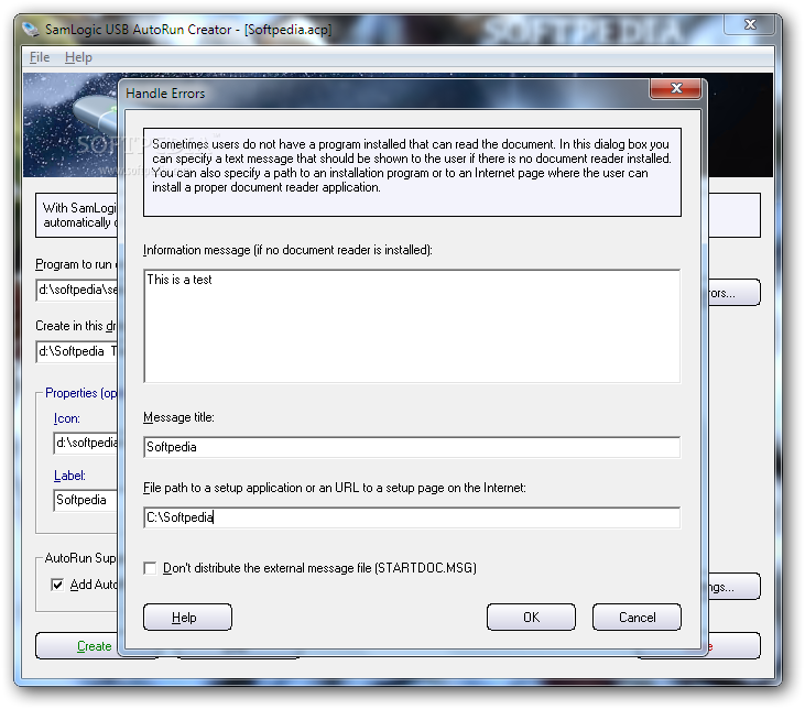 SamLogic USB AutoRun Creator - Review and Download