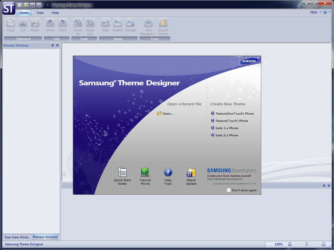 Samsung Theme Designer - Download Free with Screenshots and Review
