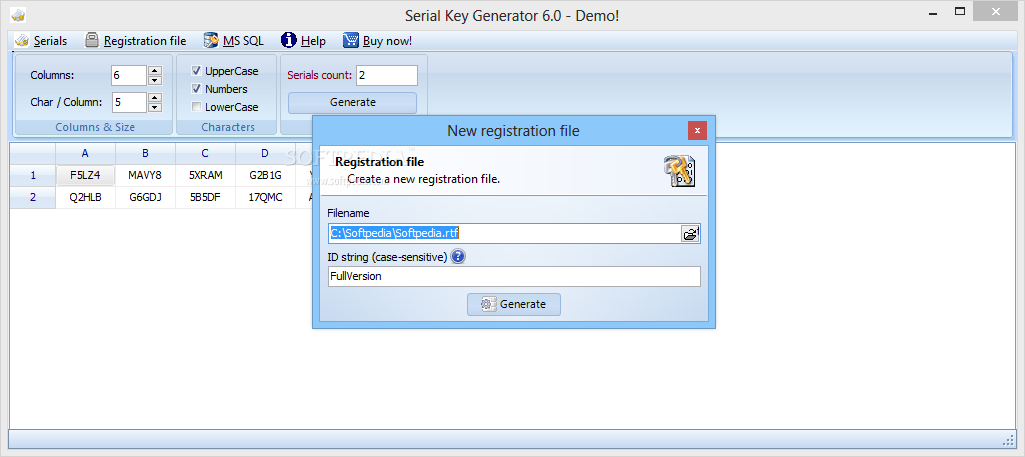 Serial Key Generator - Download Free with Screenshots and Review