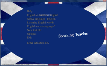 Speaking Teacher screenshot