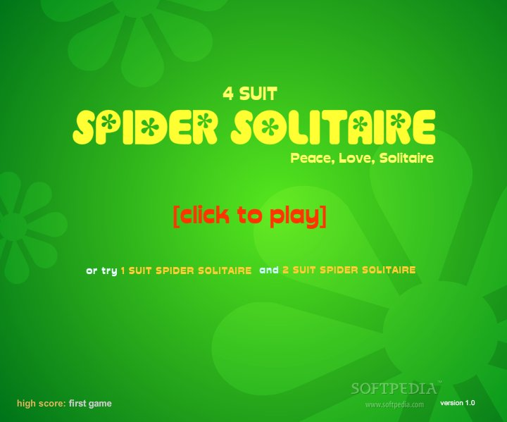 Spider Solitaire 4-Suit Game Free Download