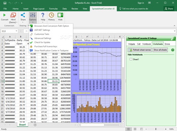 SpreadsheetConverter screenshot 4