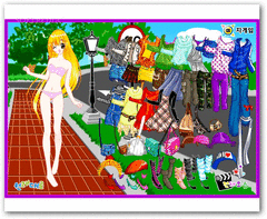 Street Fashion Dress Up screenshot 2
