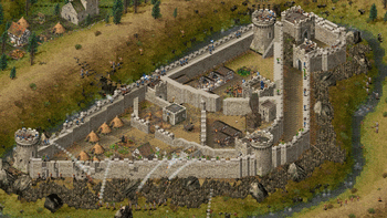 Stronghold v1.4 Polish screenshot