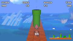 Super Mario Bros. In First Person screenshot 3