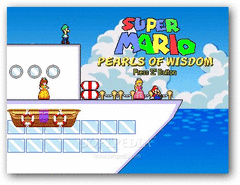 Super Mario Pearls of Wisdom screenshot