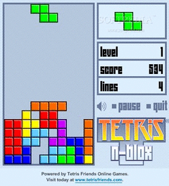 Tetris N-Blox screenshot 2