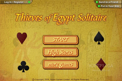 Thieves of Egypt Solitaire screenshot