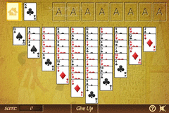 Thieves of Egypt Solitaire screenshot 2