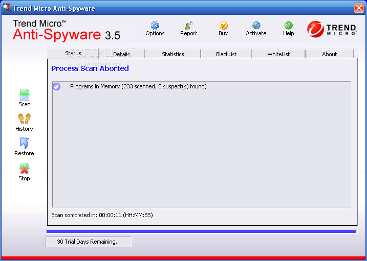 Trend Micro Spyware Pattern File - Download Free with Screenshots