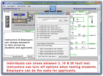TroubleX Electrical Troubleshooting Simulator screenshot 2