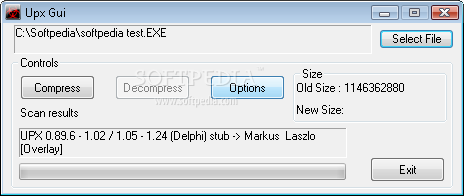 Upx Gui - Download Free with Screenshots and Review