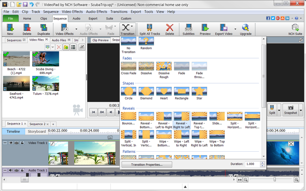 VideoPad Video Editor and Movie Maker Free - Download Free ...