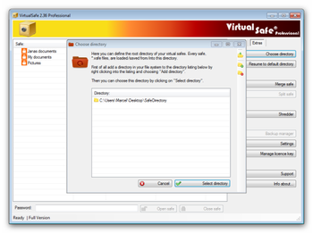Virtual Safe Professional screenshot 6