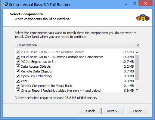 Visual Basic 60 Runtime Plus