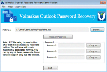Kernel Outlook Password Recovery