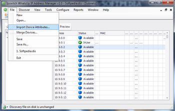 WhatsUp IP Address Manager screenshot 2