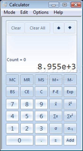 Windows7 Calculator screenshot 4