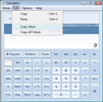 Windows7 Calculator screenshot 6