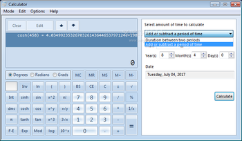 Windows7 Calculator screenshot 8