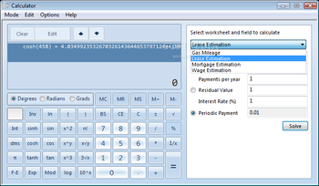 Windows7 Calculator screenshot 9